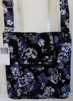 NWT NEW AUTHENTIC VERA BRADLEY FROSTED FLORAL HIPSTER CROSSB
