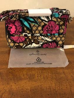 NWT VERA BRADLEY All in One Crossbody iPhone 6+ FIESTA FLORA