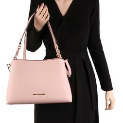 NWT Michael Kors SOFIA Large Eastwest Satchel Crossbody Bag