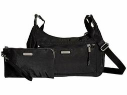 Baggallini Out and About Bagg with RFID Wristlet, Black