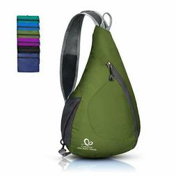 WATERFLY Packable Shoulder Backpack Sling Chest Crossbody Ba