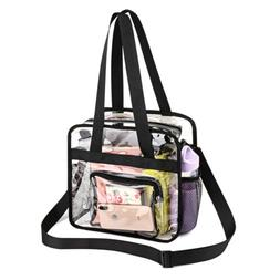 PVC Tote Bag Clear Crossbody Bag NFL Stadium Approved Transp