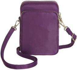 rfid blocking small crossbody bag nylon cell