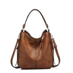Shoulder Bags for Women Large Ladies Crossbody Bag with Tass