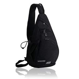 WATERFLY Sling Backpack Sling Bag Small Crossbody Daypack Ca