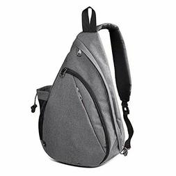 OutdoorMaster Sling Bag - Small Crossbody Backpack for Men &