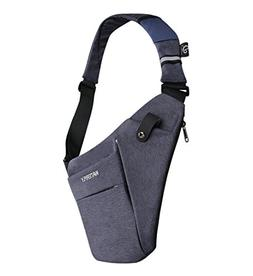 WATERFLY Sling Bag Lightweight Casual Daypack Chest Shoulder