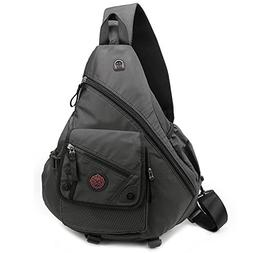 "DDDH 15.6"" Sling Bags Laptop Crossbody Backpack Chest Should"
