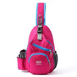 Sling Shoulder Backpack Bags Waterproof for Women Children,