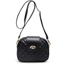 ToLFE Small Crossbody Bag for Women Triple Zip Pocket Should
