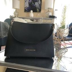 Michael Kors Sofia Portia Large Satchel Crossbody Bag Saffia