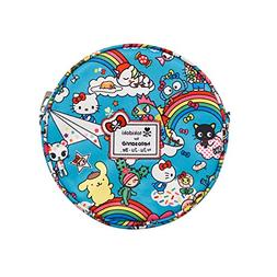 JuJuBe Be Bop Circle Purse, Tokidoki Collection - Rainbow Dr
