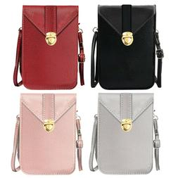Touch Screen Purse Crossbody Phone Bag Waterproof Clasp Wall