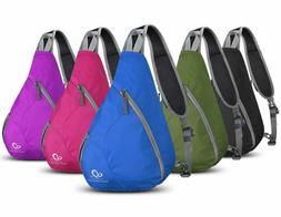 WATERFLY Folding Chest Pack Sling Bag Backpack Outdoor Cycli