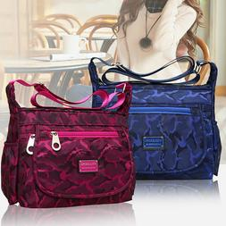 waterproof single shoulder messenger crossbody bag nylon