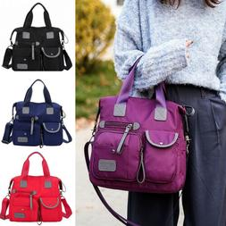 waterproof women lady nylon large shoulder messenger
