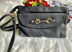 Women Crossbody Bag Faux Leather 8 inch length and 5 inch