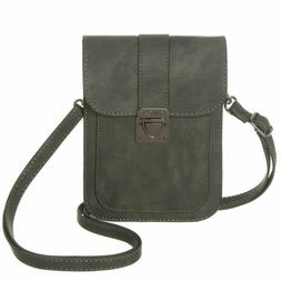 Minicat Women Insides Card Slots Small Crossbody Bags Synthe