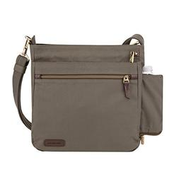 Travelon Women's Anti-Theft Courier N/s Crossbody Cross Body