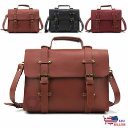 Women's Classic Vintage Crossbody Messenger Bag Satchel Shou
