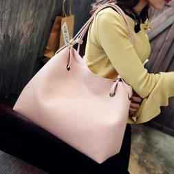 Women's Purses and Handbags Crossbody Bag 2pcs Large Capacit