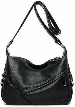 Women's Retro Sling Shoulder Bag from Covelin, Leather Cross