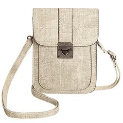 MINICAT Women Simple Series Small Crossbody Bags Synthetic L