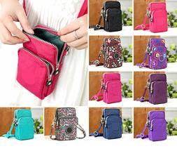 Women Small Cross-body Cell Phone Case Shoulder Bag Pouch Ha