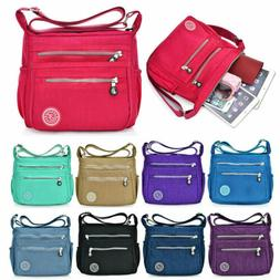 Women Waterproof Tote Messenger Cross Body Bag Handbag Ladie