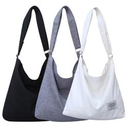 Retro Canvas Handbag Women's Casual Tote Lightweight Shoulde