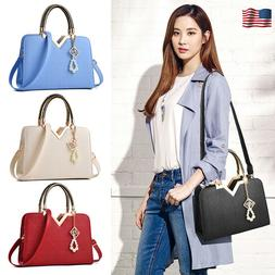 Womens Leather Handbag Fashion Shell Bag Shoulder Satchel To
